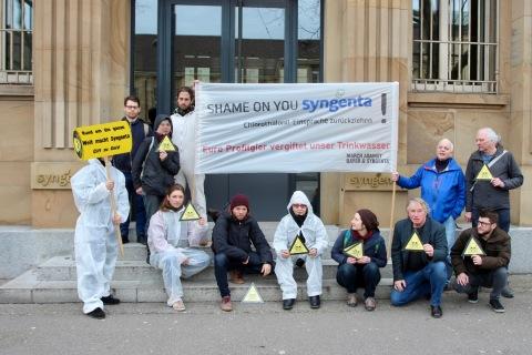 Chlorothalonil Protest vor Syngenta